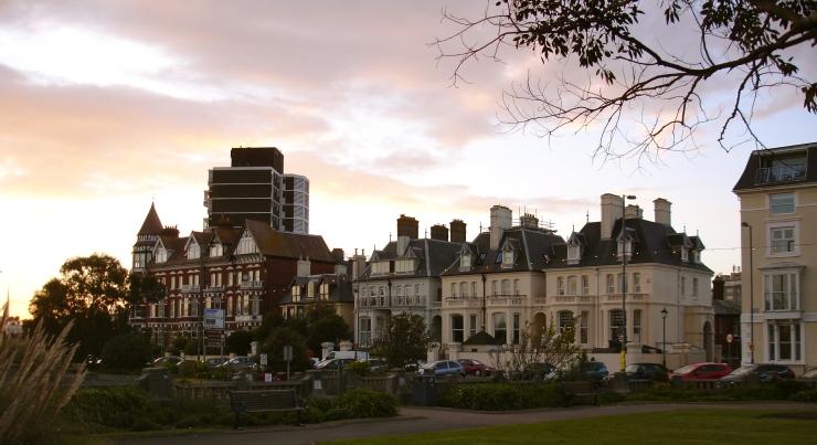 Portsmouth, twilight