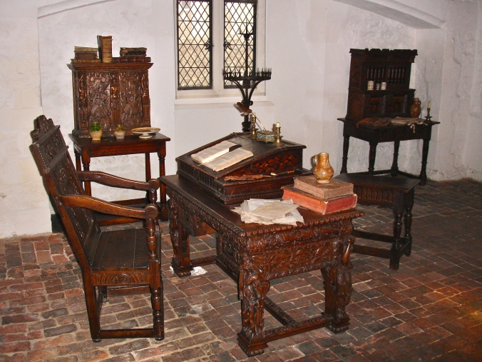 "Sir Walter Raleigh's ""prison"" flat"
