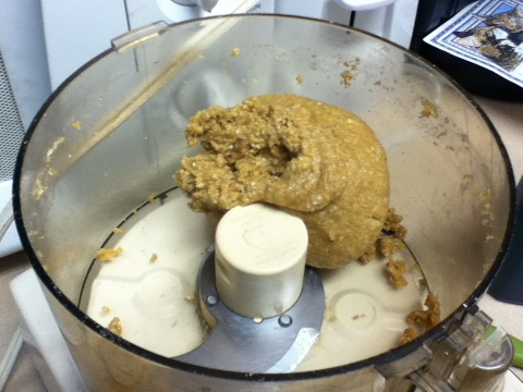 Is it an alien mutant sprouting from my food processor? Or exactly how you want the dough to look?