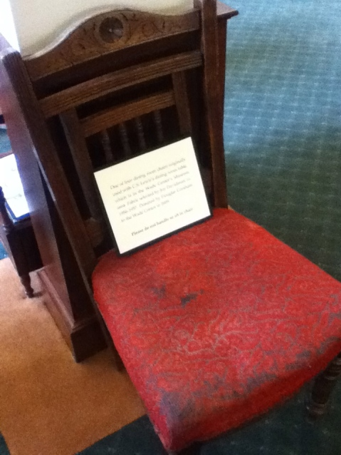 Lewis' dining-room chair