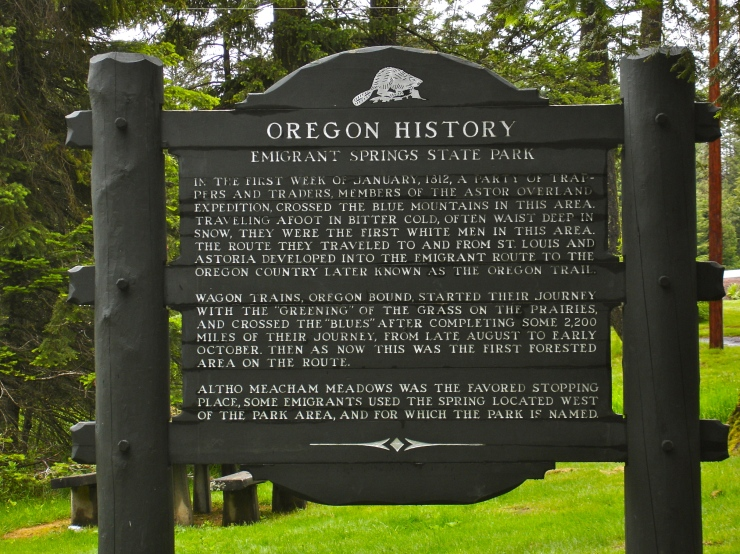 Oregon Trail Day Eight A Fortuitous Change Of Plans Emily Jacobs
