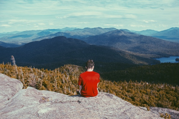 solitude on mountains